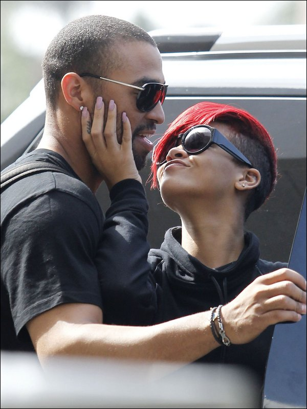 Matt Kemp and Rihanna