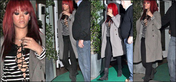 NEW 09/01/11 : Rihanna ne sera pas presente au NRJ Music Awards!Confirmer par Nikos
