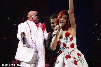 Cee-Lo Green fera la première partie de Rihanna au USA
