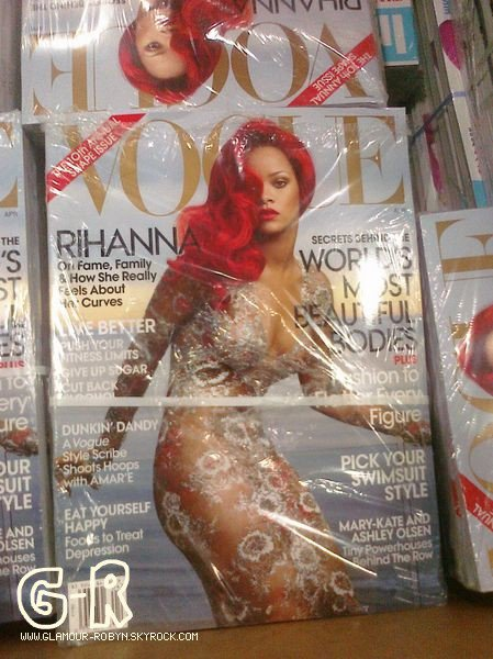 Rihanna cover vogue