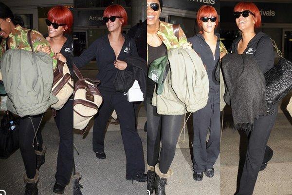 Rihanna de retour  à Los Angeles