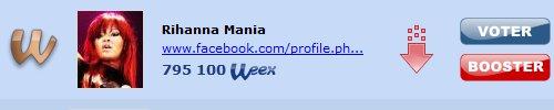 . 01 Avril 2011 : Resultat de webtop du mois de Mars!Apres une longue journée de bataille c'est finalement Atomik-Rihanna qui remporte Loud L'edition Deluxe! Félicitation au 3 premiers, cliquer sur les images pour visiter leur site.  .