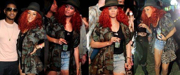 ". 18 Avril 2011 Rihanna au festival ""Coachella Valley Music & Arts"" ! ."