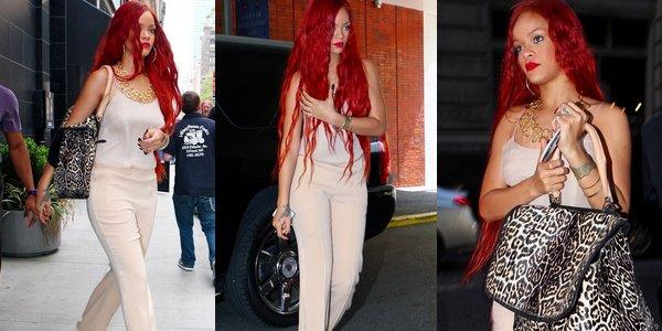 Rihanna au restaurant