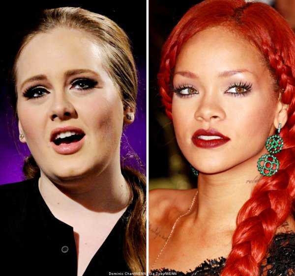 Adele attirer par Rihanna