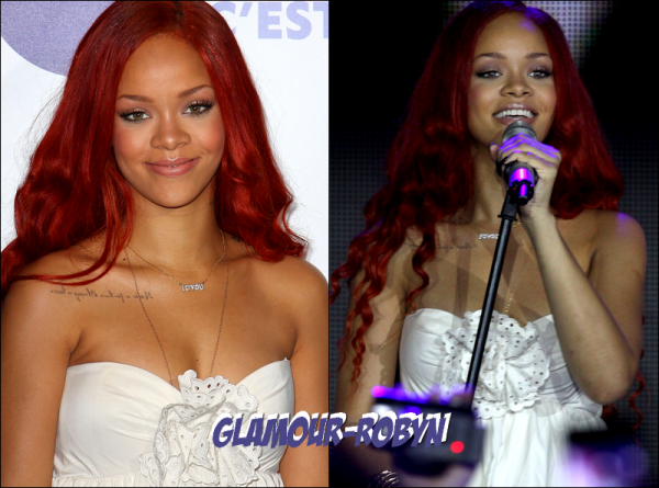 6 Mai - Rihanna à la celebration des 100 ans de Nivea à Paris