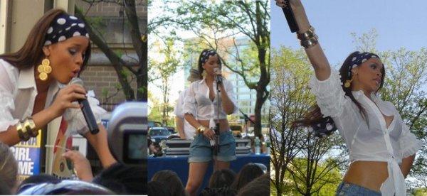 New Rare Photos Rihanna Live Reston Town Center en 2006