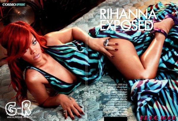 Scans Cosmopolitan edition Juillet 2011