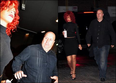 Rihanna in Montreal