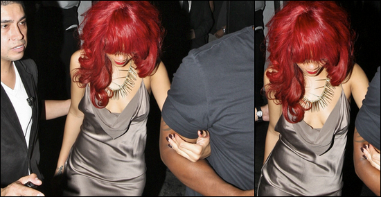 Rihanna quitte l'after party des BET Awards