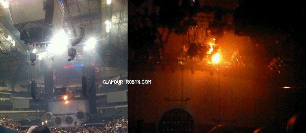 Incendie au Concert de Dallas