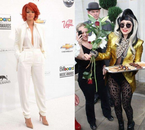 "Rihanna: ""Je ne pourrais jamais m'habiller comme Lady Gaga ! """