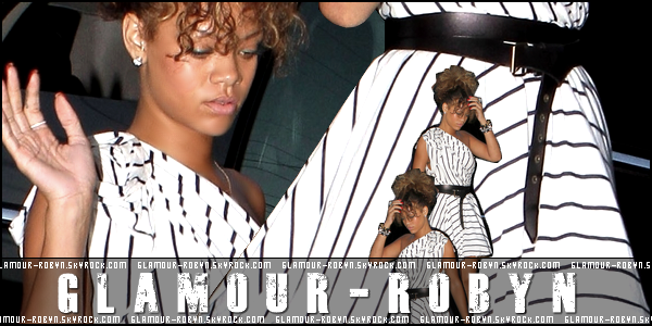 -----------Rihanna arrive a un studios a Hollywood !----------Article posté par Elodie.