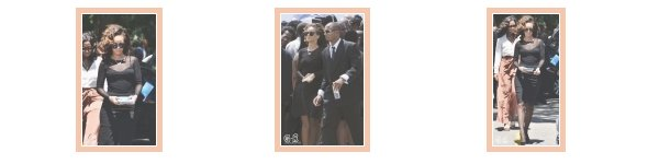 Rihanna a un enterrement a la Barbade hier---------------------------Article posté par Elodie .
