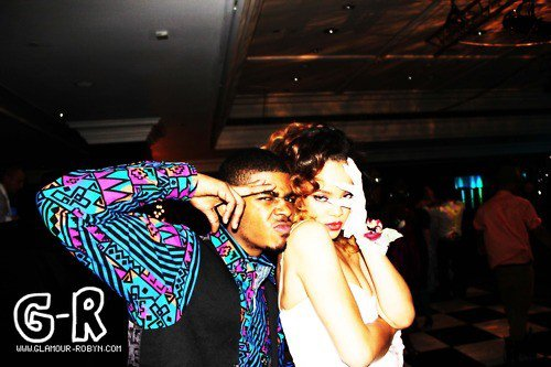 Rihanna fete la fin du Loud tour avec un Bal, ambiance année 80!
