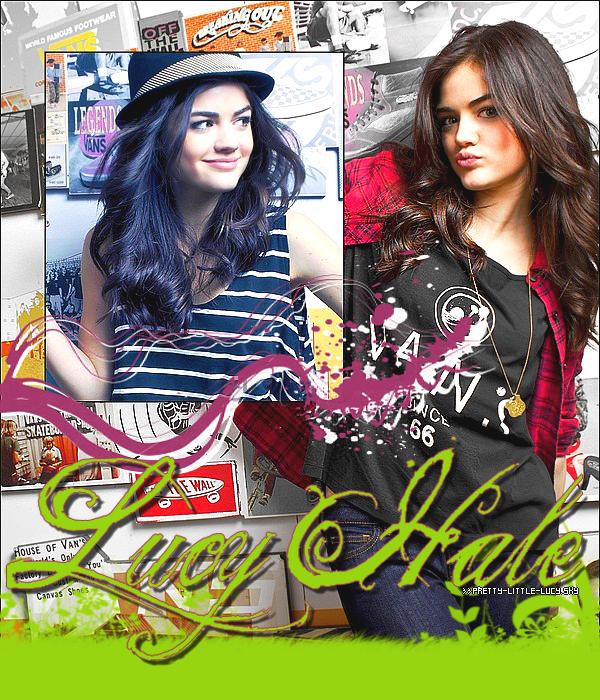 Bienvenue sur Pretty-Little-Lucy ta source sur la fabuleuse Lucy Hale !