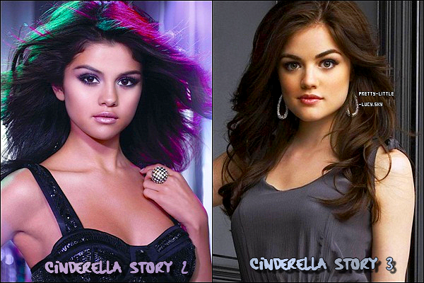 ♪ Nous découvrons une nouvelle chanson tiré du Téléfilms A Cinderella Story  :« Bless Myself »  après « Run This Town » en juin dernier. Le CD avec toutes les chanson sera disponible le 6 Septembre prochain.     • On dirais que notre Lucy marche sur les pas de la jeune Selena Gomez. Avec une ressemblance physique évidente. Ces deux belle brunes ont beaucoup de points communs. Toutes deux actrice , chanteuse, talentueuse,... Affaire a suivre.