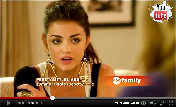 L'épisode 12  de Pretty Little Liars sortira le 30 aôut au Etas-Unis + Photoshoot pour Savvy Magazine 2010.