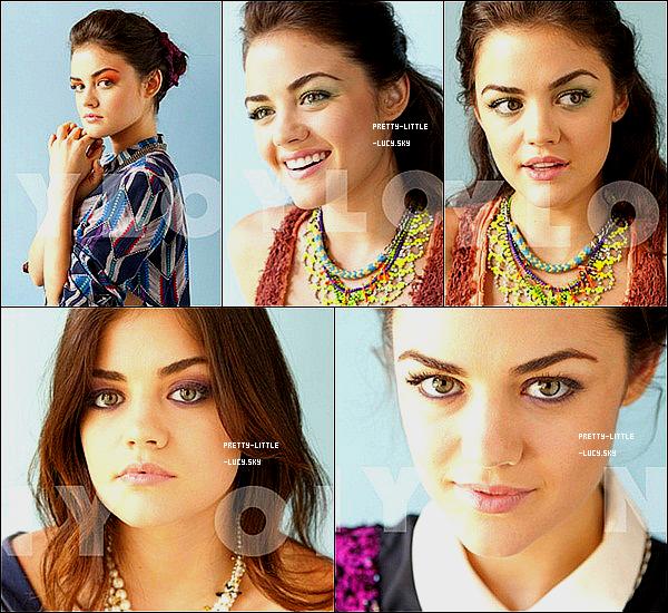 Voici un nouveau photoshoot de Lucy pour le magazine « Nylon » de Septembre 2011 !