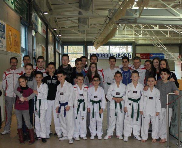 Luxembourg 23 février 2013, 4Or,3 Argent, 3 Bronze, bravo à tous nos enfants