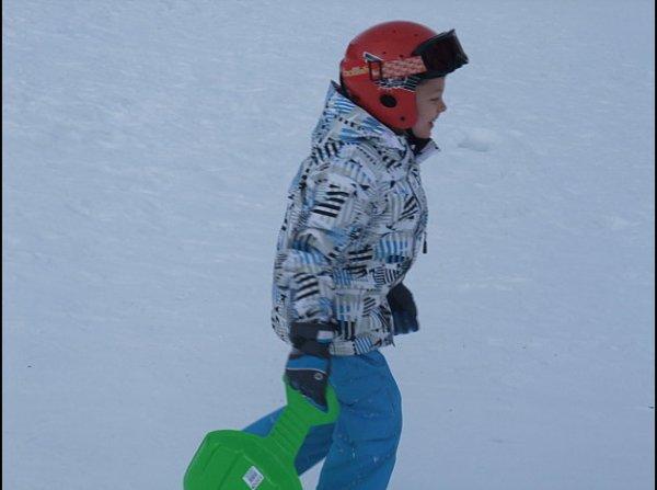 Léo en classe de neige