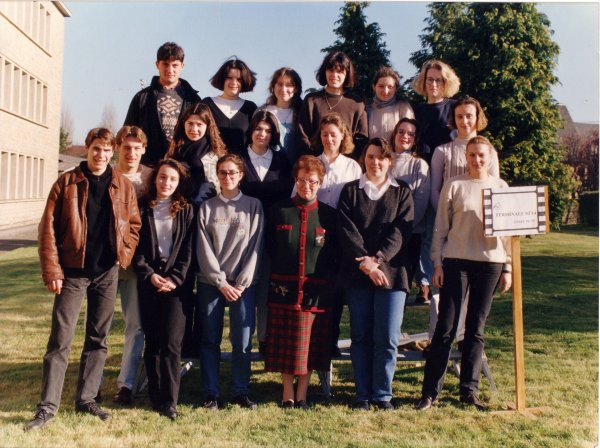 Classe de terminale 1994-1995