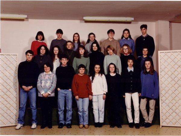 Classe de première 1993-1994