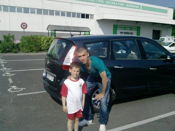 Noa avec Jérôme Leroy