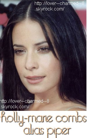 Holly-Marie COMBS alias Piper
