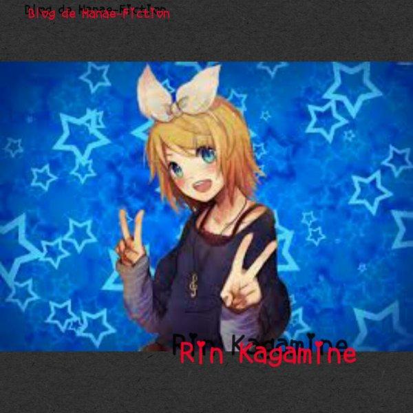 Groupe X: Rin Kagamine