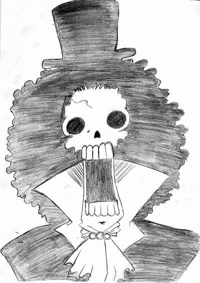 Dessins personnages de One piece
