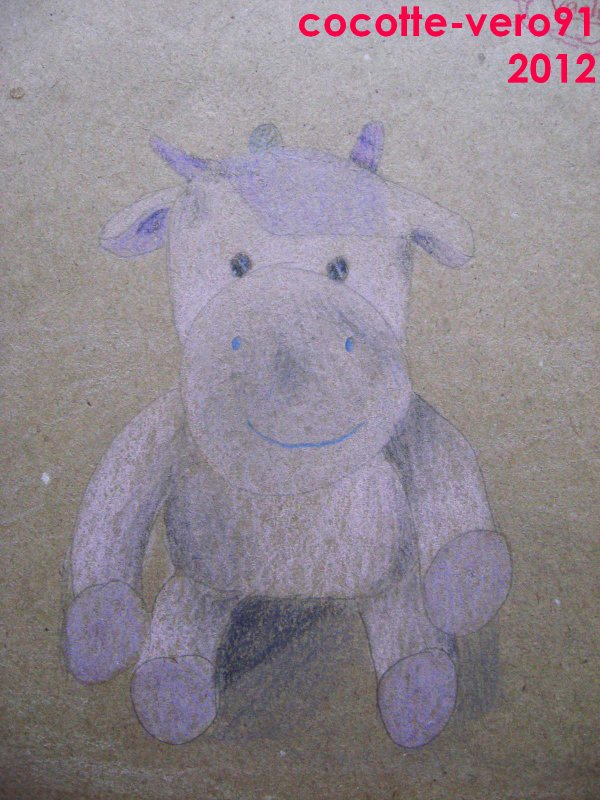 Exercise en classe : Tite Vache rose (2012)
