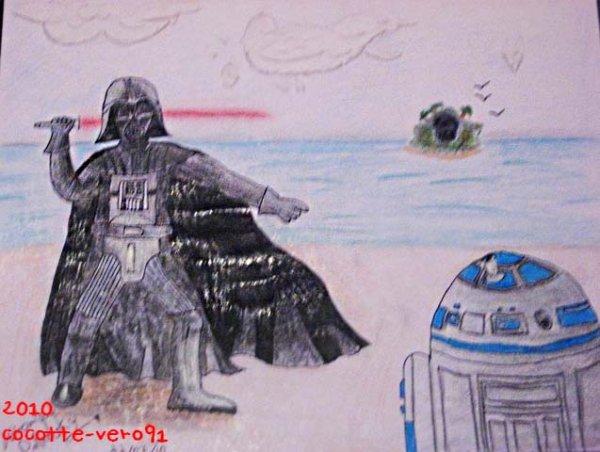 Dark Vader et R2-D2 (2010)