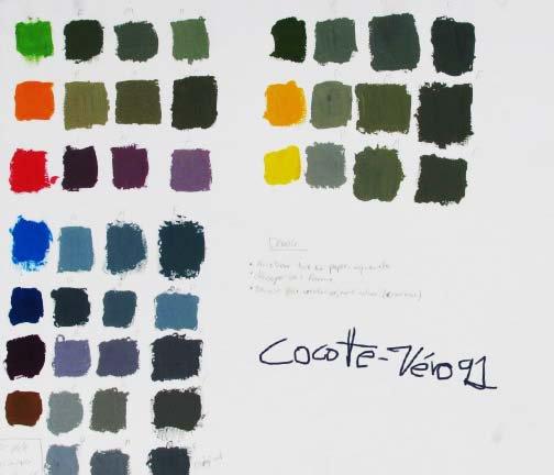 Recherche de gris coloré 1 (2012)