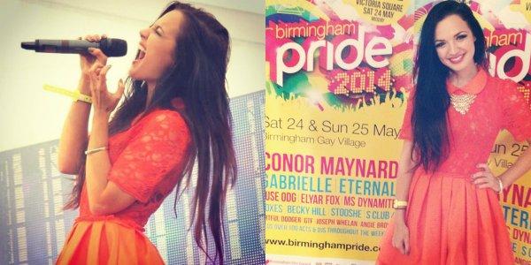 24/05/14 : Tich était présente au Birmingham Pride