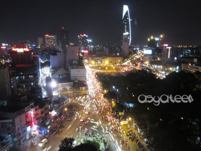 ..Ho Chi Minh City by Night..