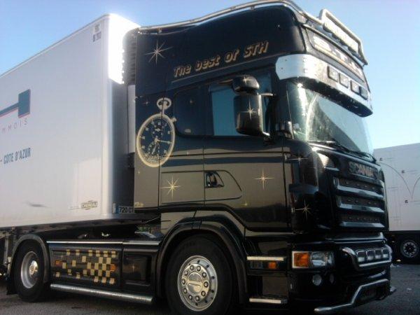 transports sth ' SCANIA TOPLINE '