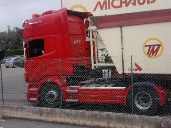 transports gentil mickael ' SCANIA TOPLINE '