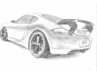 8 me dessin porsche les dessinateurs du dimanche for Plans de dessins de porche