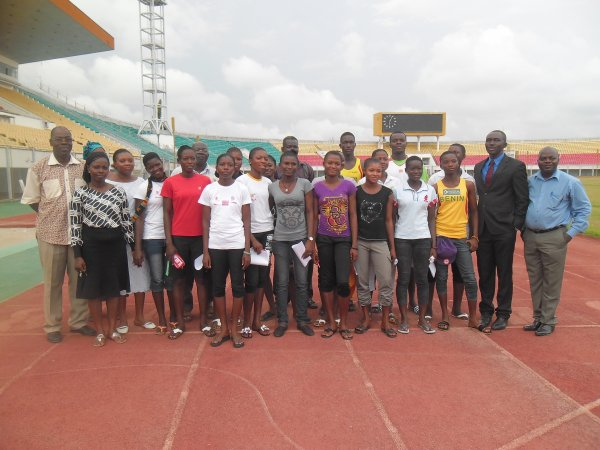 Dans la perspective de poursuivre leur formation sport-études, La Fédération Béninoise d'Athlétisme prépare la destination USA pour ses athlèteseee