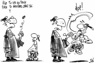 Tribunal de l'adolescence est