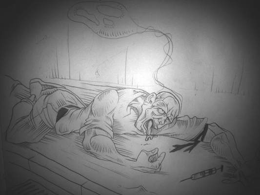 sexe de l'adolescence de dessin animé