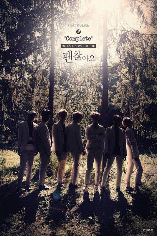 """le groupe BTOB annonce leur album """"Complete"""" le 29 juin"""