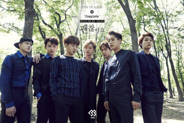 BTOB : nouvelle photo teasers de leur album