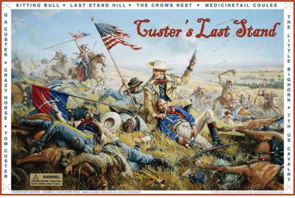 Georges Amstrong Custer et le 7eme de cavalerie