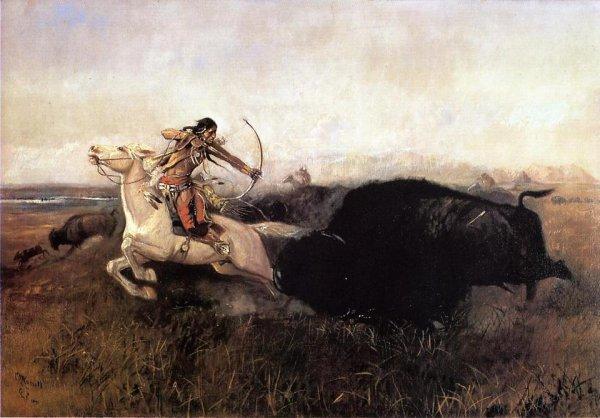 La Chasse au Bisons