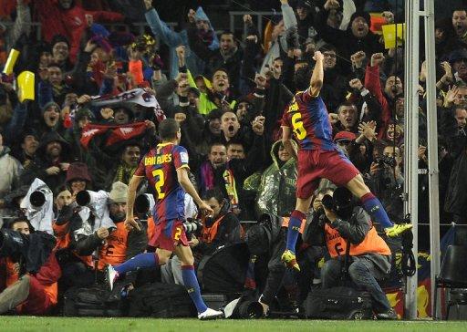 Le Barça parle football