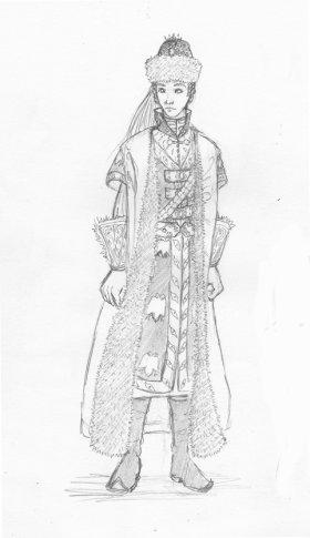 Costume Russe