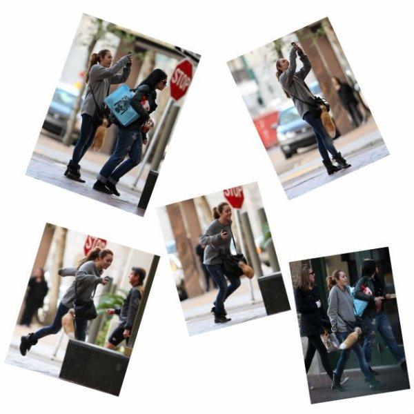 14/01 : Miley se promenant a la Nouvelle Orléans