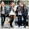 15/02 : Miley allant déjeuné chez Bea Bea's a Burbank avec sa mère